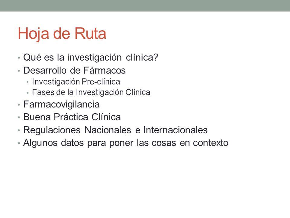 ICH: International Conference of Harmonization (cont.) Objetivo: Facilitar el proceso de desarrollo de fármacos en todo el mundo a través de la armonización de los requerimientos técnicos para registrar fármacos para uso humano Publicación de Guías