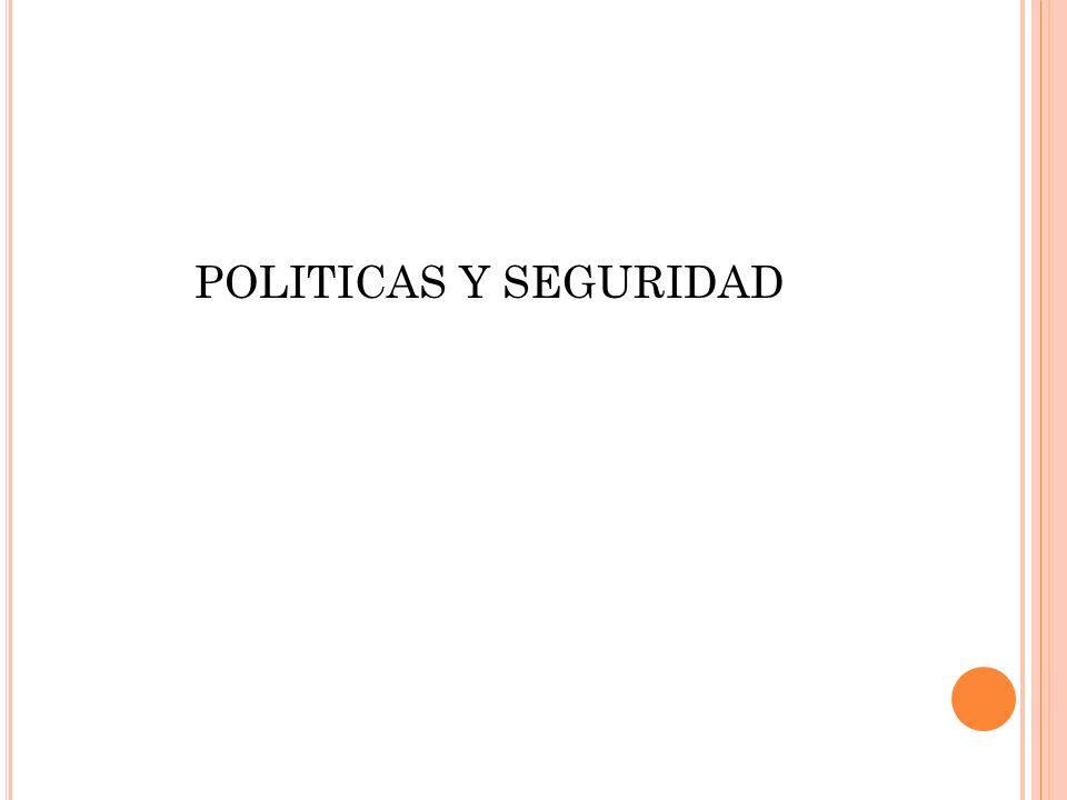 POLITICAS Y SEGURIDAD