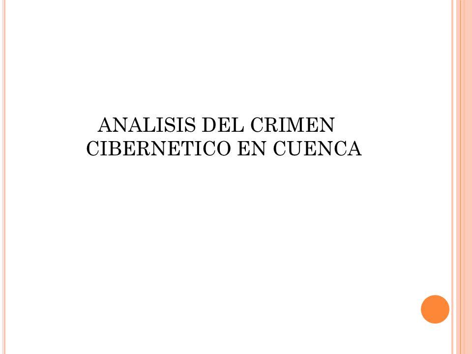 ANALISIS DEL CRIMEN CIBERNETICO EN CUENCA