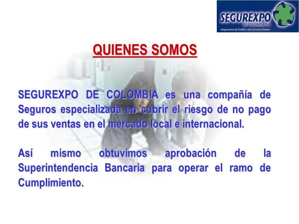 SEGURO DE CREDITO A LA EXPORTACION CountryGDPExportImportInternationalisationRating S& P Argentina79288,746%Default Brazil468706328%B+ Chile6418,317,1