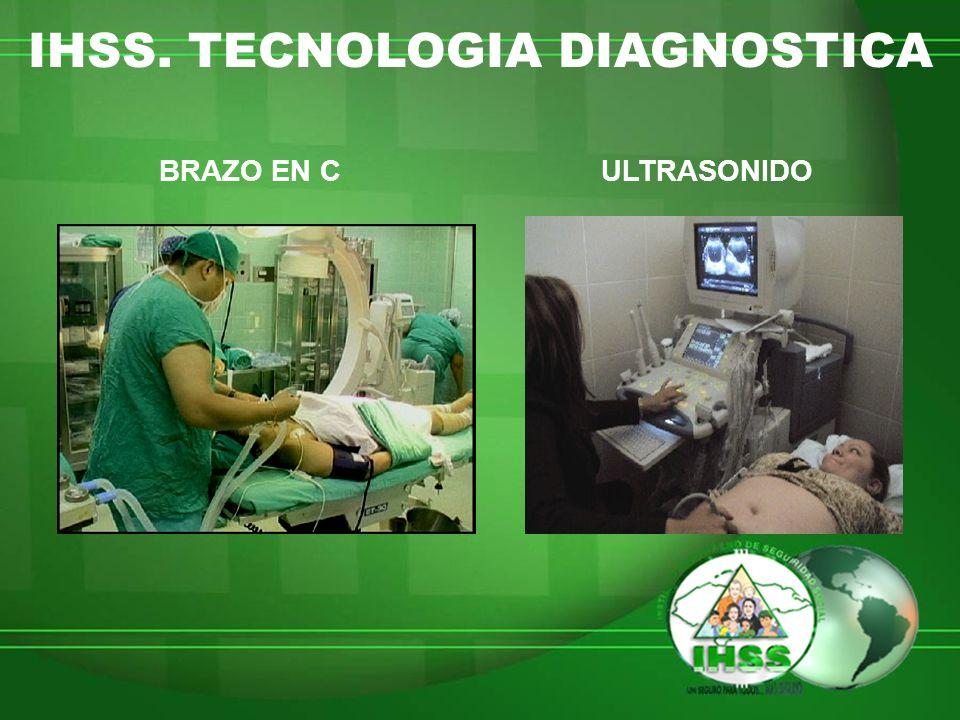 IHSS. TECNOLOGIA DIAGNOSTICA BRAZO EN CULTRASONIDO
