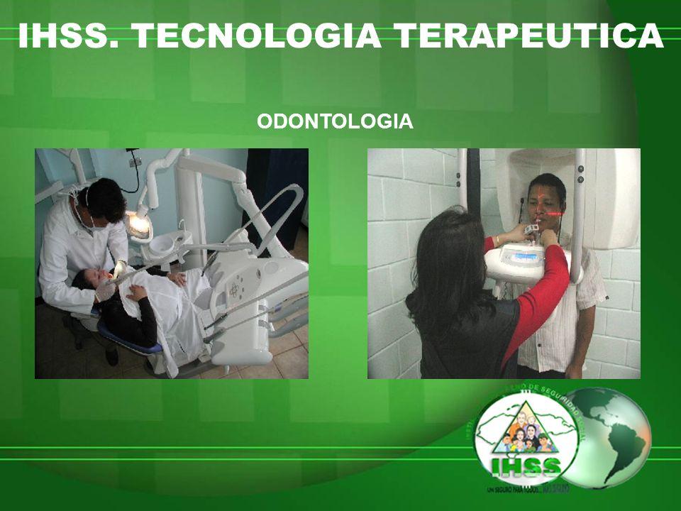 IHSS. TECNOLOGIA TERAPEUTICA ODONTOLOGIA