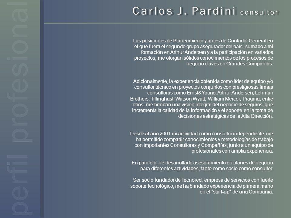 2009 – 2006 BANCO HIPOTECARIO SEGUROS (2008+actual) Consultor de negocio para la implementación de su nuevo sistema contable y adecuación normativa.