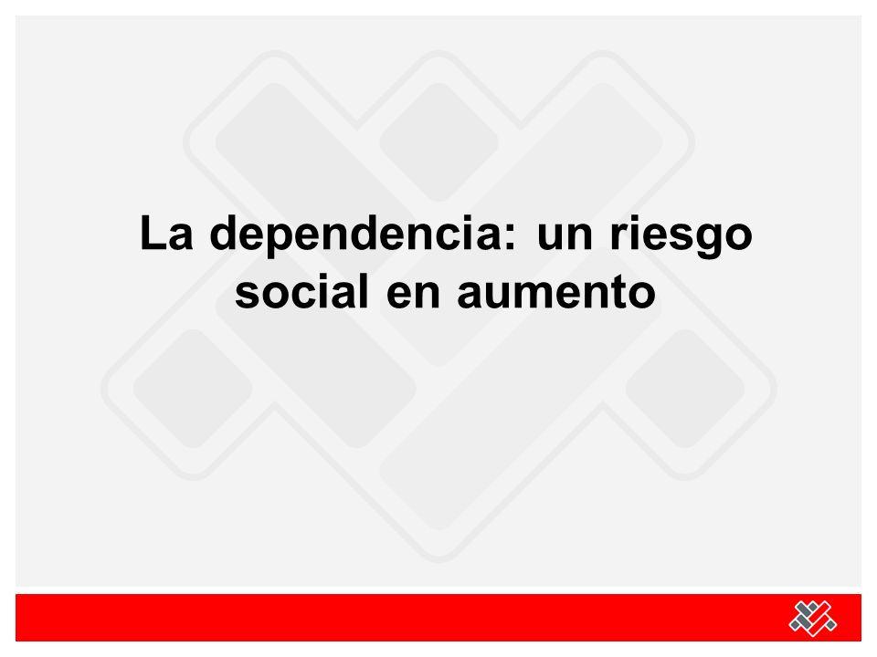 La dependencia: un riesgo social en aumento