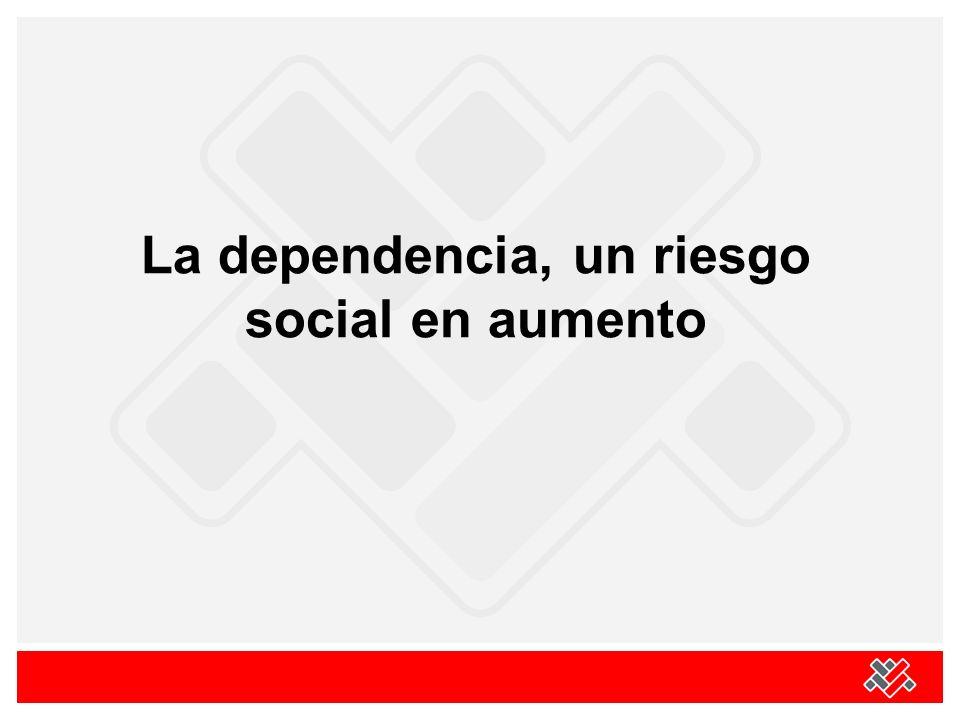 La dependencia, un riesgo social en aumento