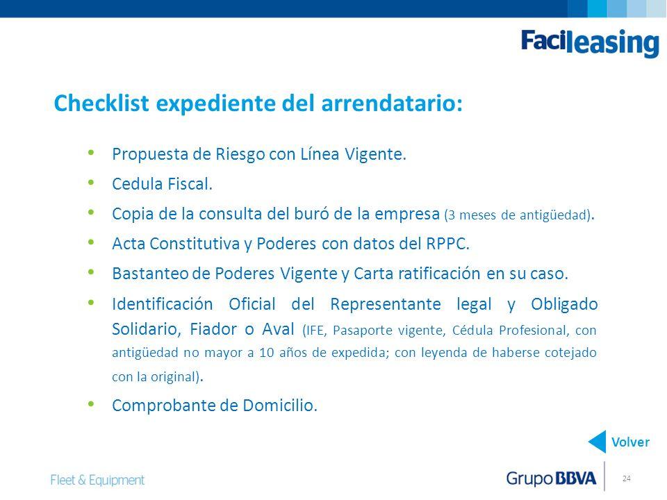 24 Propuesta de Riesgo con Línea Vigente.Cedula Fiscal.