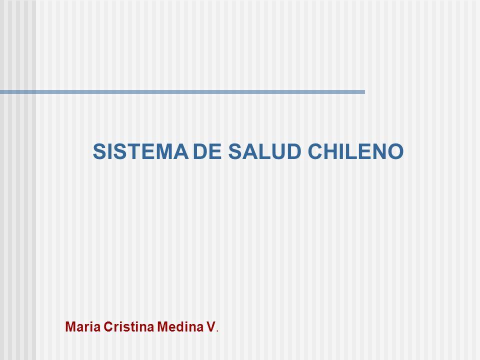 SISTEMA DE SALUD CHILENO Maria Cristina Medina V.