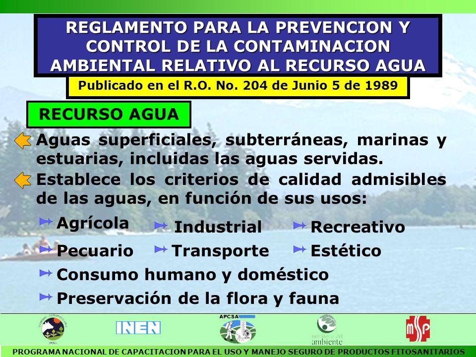 DESCARGAS DE RESIDUOS LIQUIDOS Las aguas residuales, previamente a su descarga, deberán ser tratadas sea cual fuere su origen: público o privado.