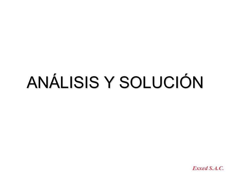 ANÁLISIS Y SOLUCIÓN Exxed S.A.C.