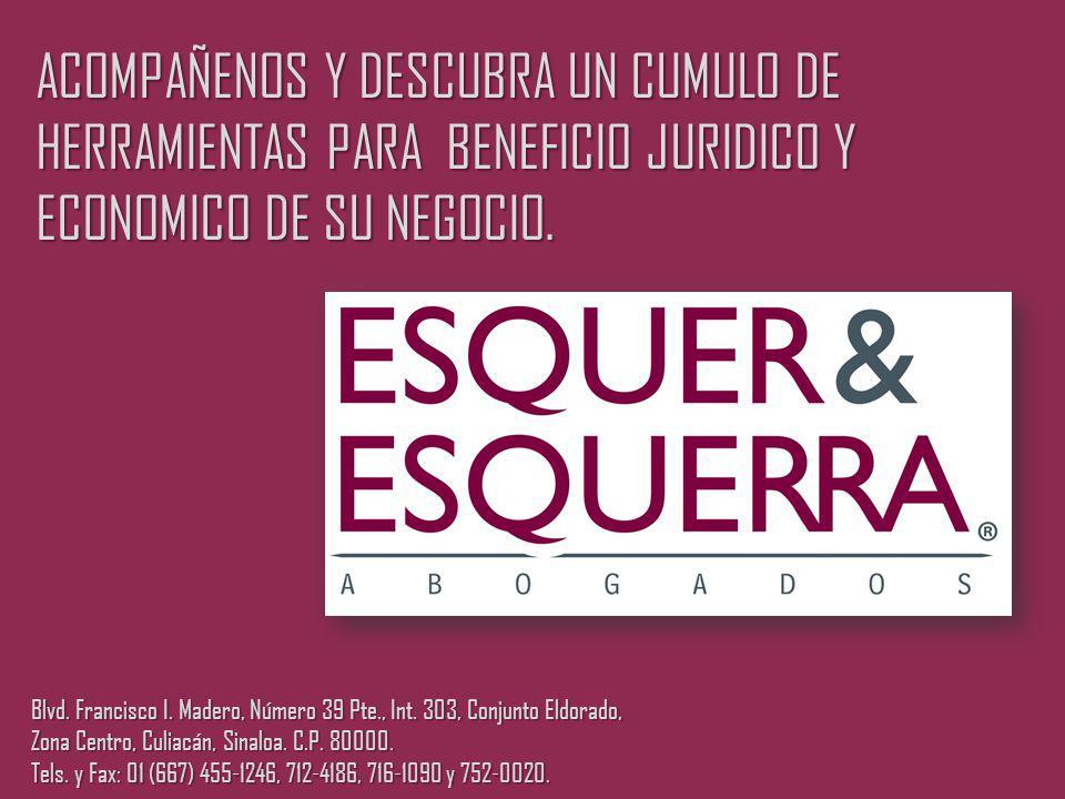 ACOMPAÑENOS Y DESCUBRA UN CUMULO DE HERRAMIENTAS PARA BENEFICIO JURIDICO Y ECONOMICO DE SU NEGOCIO.