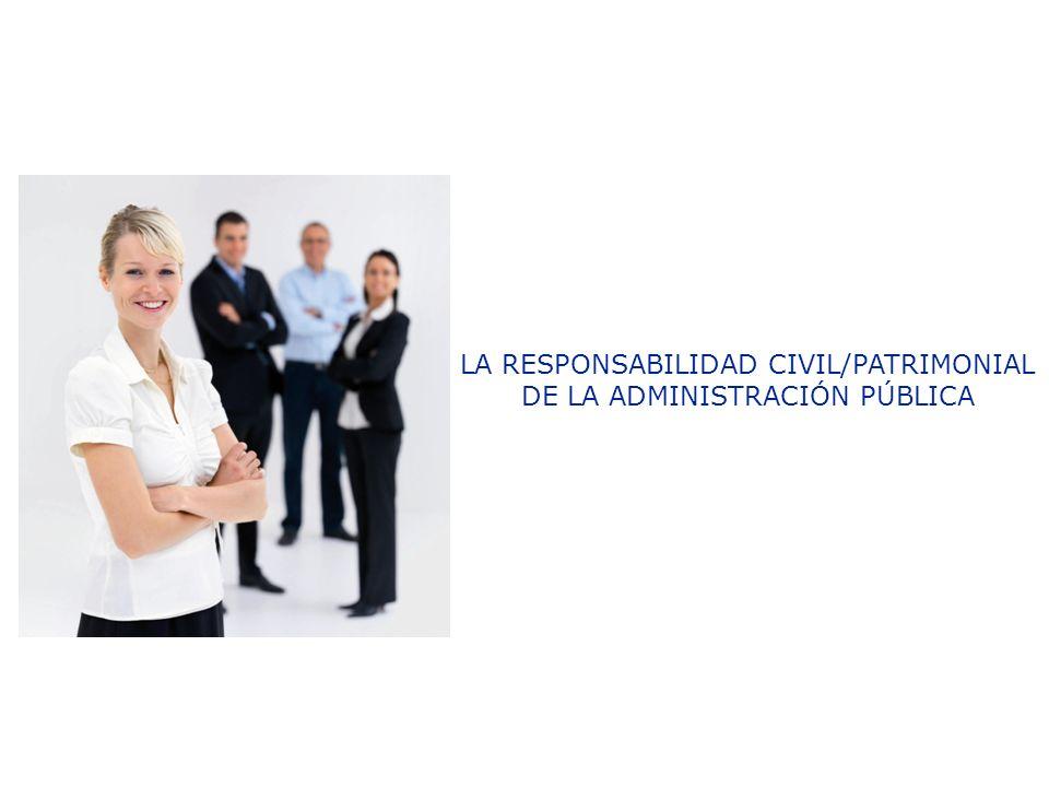 la responsabilidad patrimonial de la administracion: