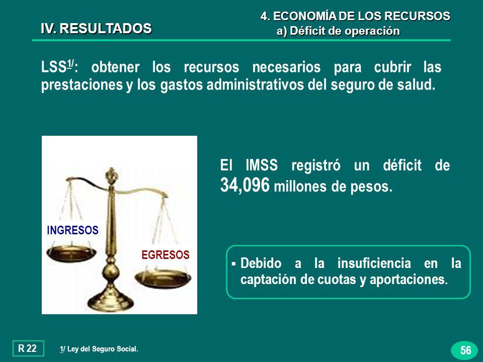 56 LSS 1/ : obtener los recursos necesarios para cubrir las prestaciones y los gastos administrativos del seguro de salud.