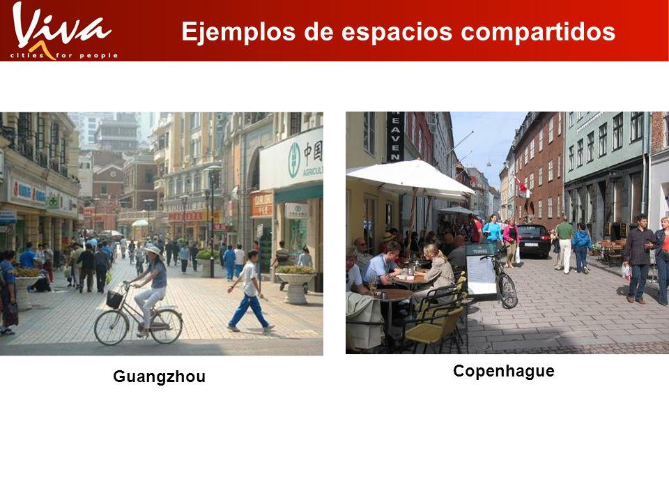 Ejemplos de espacios compartidos Guangzhou Copenhague