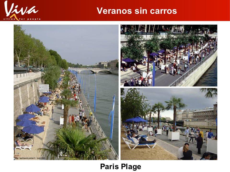 Veranos sin carros Paris Plage