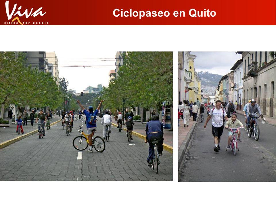 Ciclopaseo en Quito