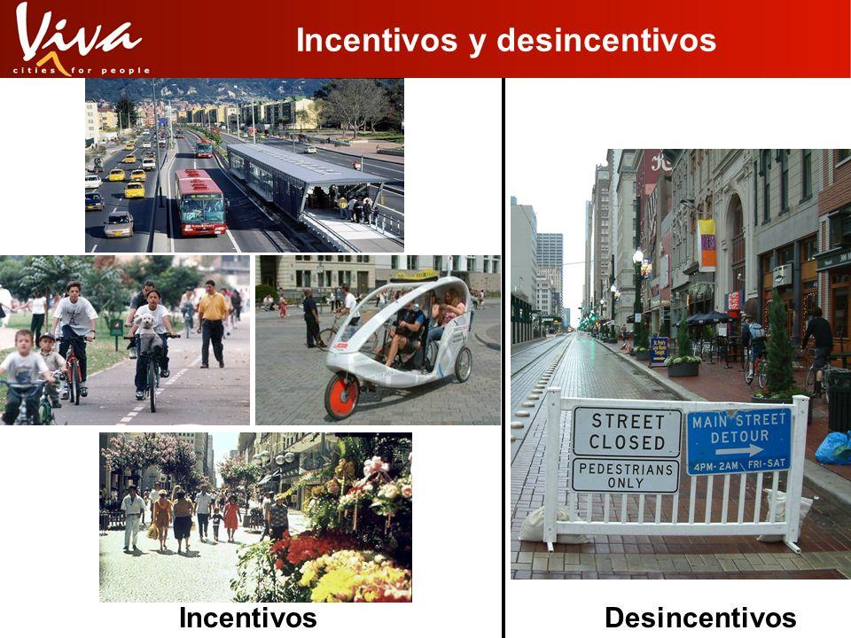 Desincentivos y la voluntad politica El transporte no es un problema técnico, Tampoco es un problema económico, Casi a menudo, es un problema político.