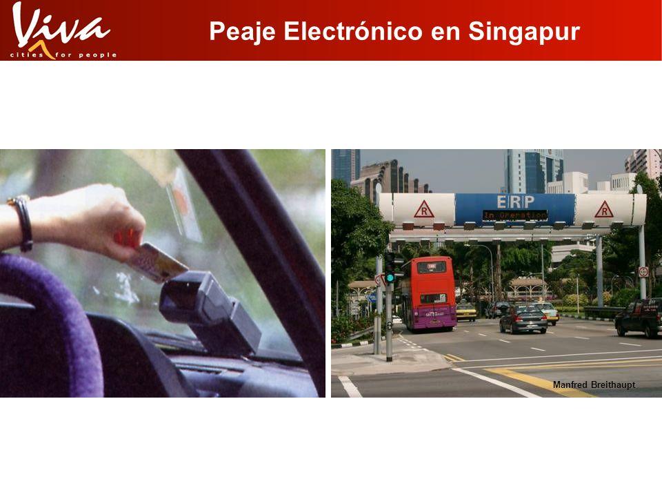 Peaje Electrónico en Singapur Manfred Breithaupt