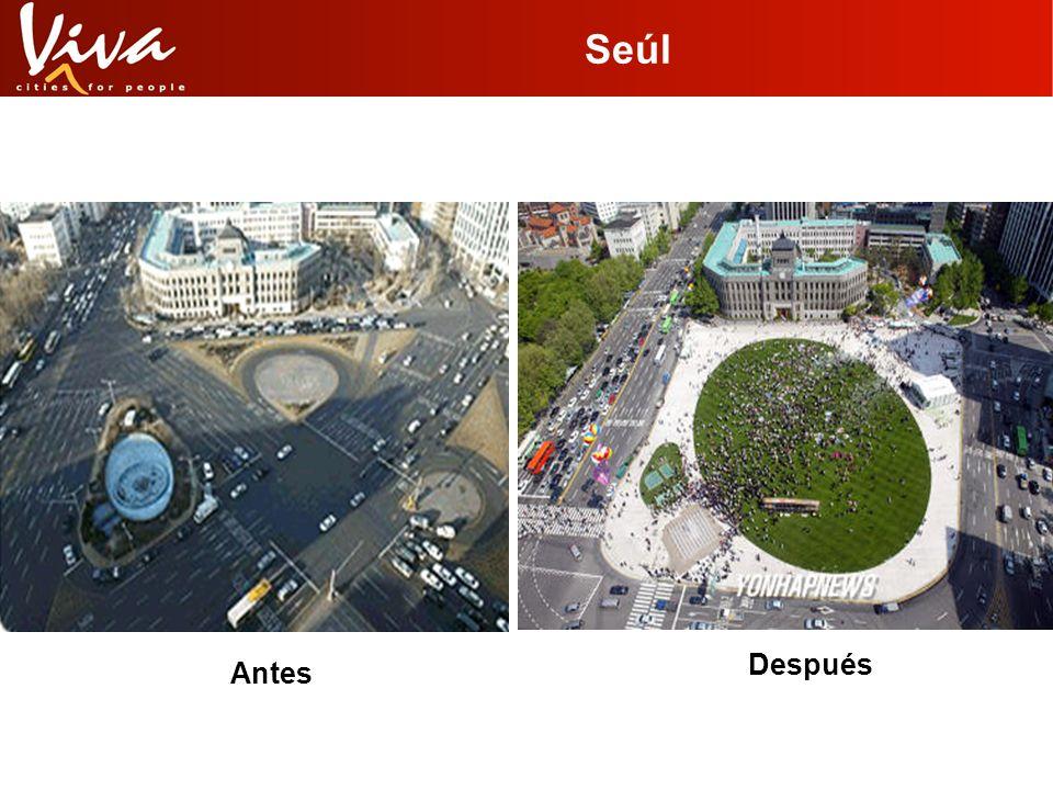Espacio público en Seúl