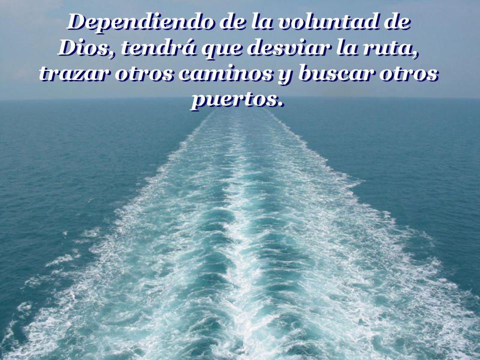 Sin embargo, sabemos que está allí preparándose, abasteciéndose y alistándose para ser lanzado al mar, cumpliendo con el destino para el cual fue crea