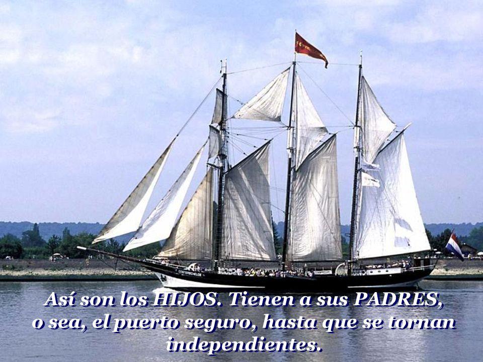 Pero retornará fortalecido por la experiencia adquirida, enriquecido por la sabiduría de la vida. Y llegara al puerto como un vencedor.