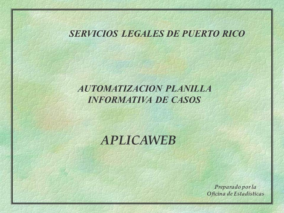 22 Pantalla VII: Tele-Servicio