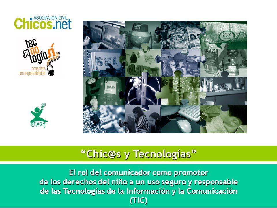 CHIC@S Y TECNOLOGÍAS EN LAS NOTICIAS 1.Usos y costumbres / Nuevos consumos culturales 2.
