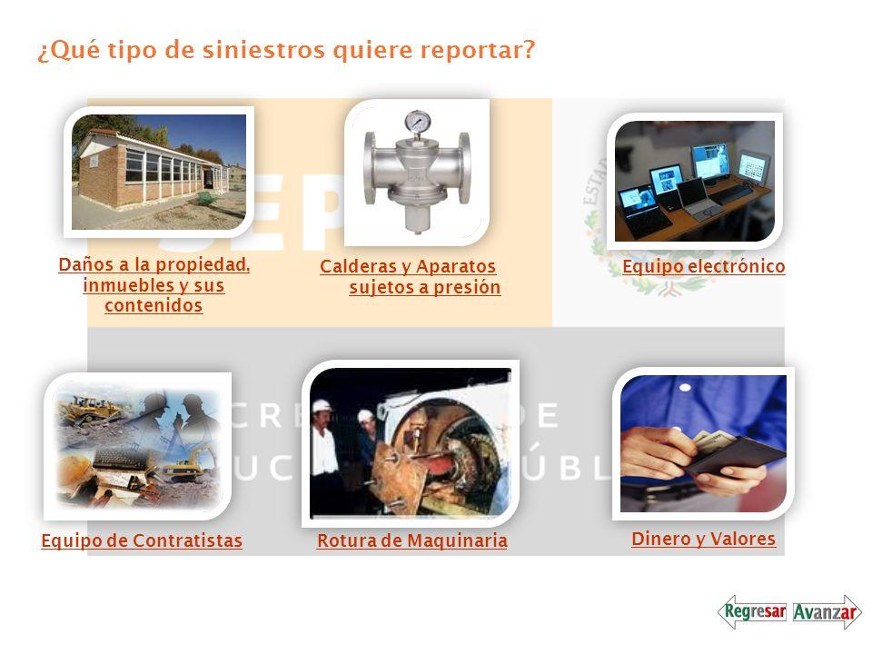 Póliza de la SEP - Calderas y aparatos sujetos a presión Documentación General de Todos los Ramos: - Carta Formal Reclamación Dirigida a la Compañía de Seguros.