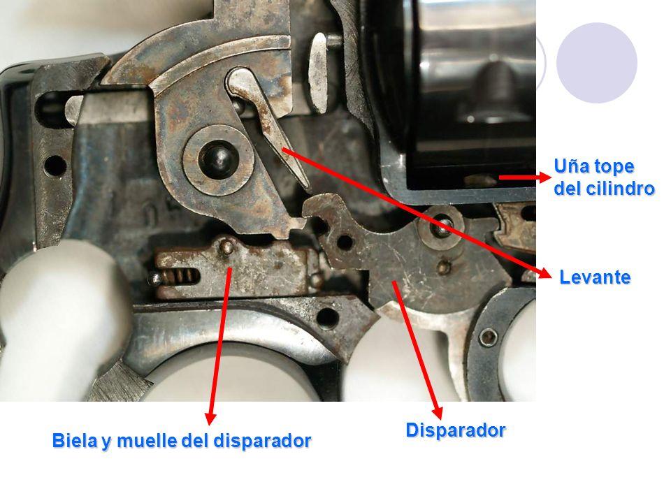 Biela y muelle del disparador Disparador Levante Uña tope del cilindro