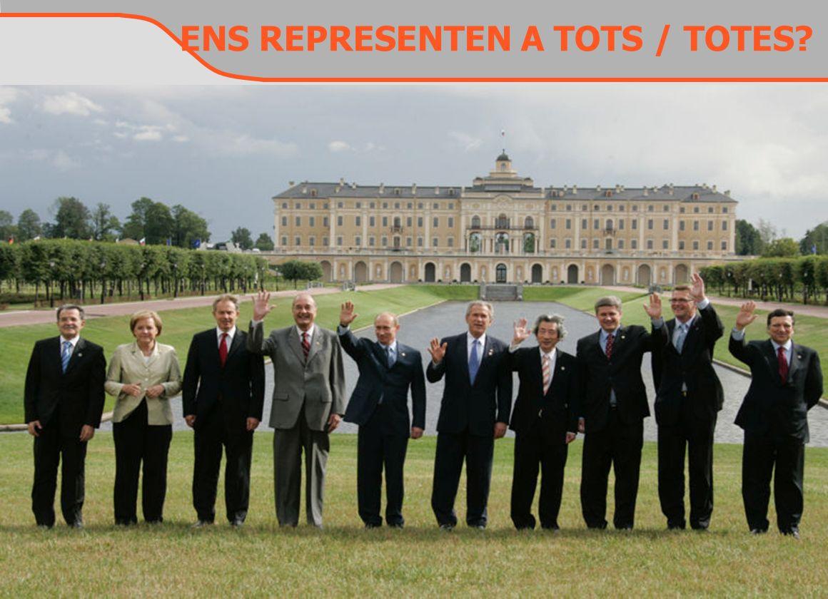 ENS REPRESENTEN A TOTS / TOTES