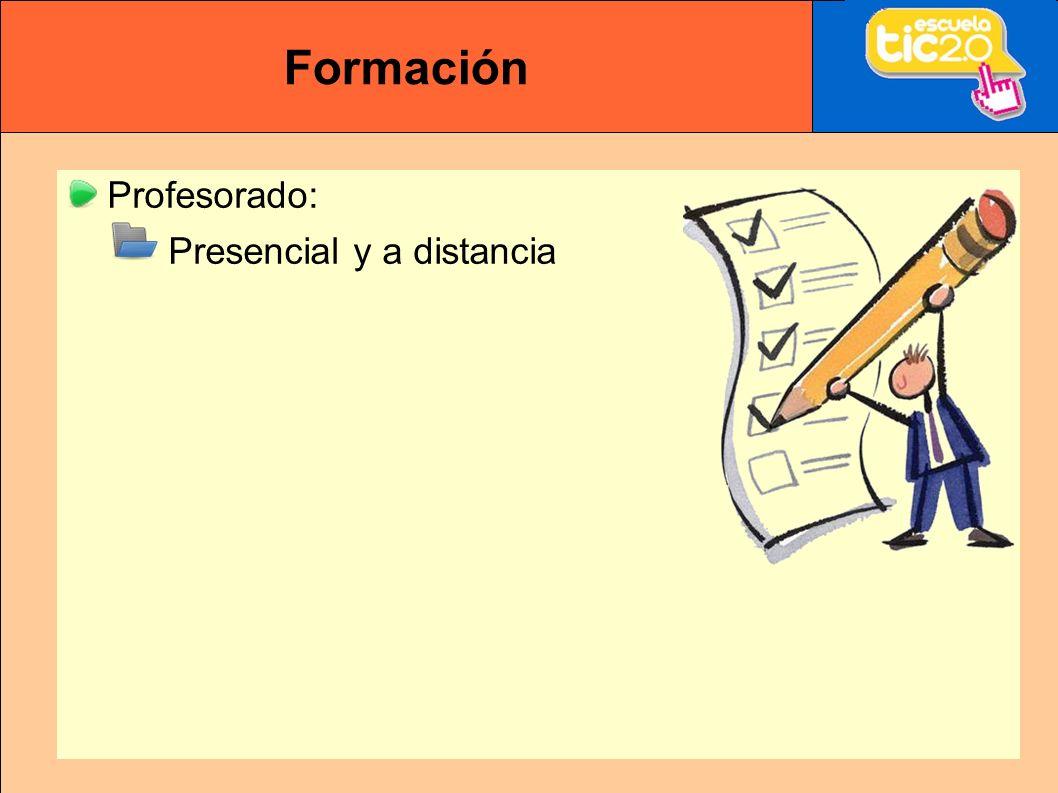 Formación Profesorado: Presencial y a distancia