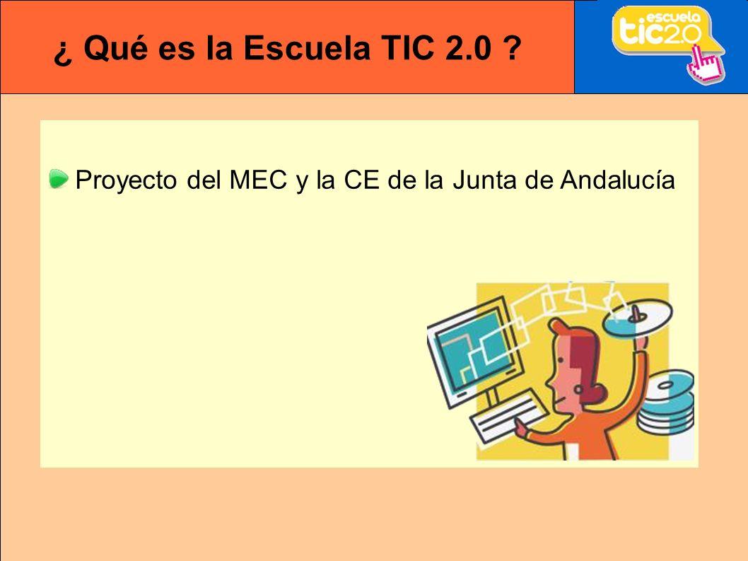 Proyecto del MEC y la CE de la Junta de Andalucía
