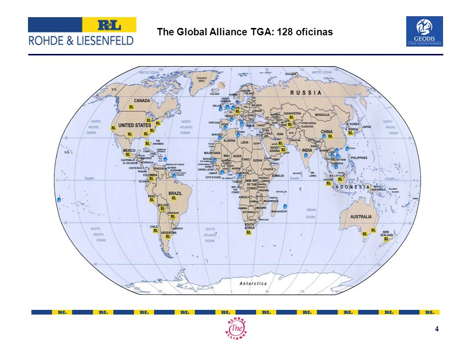 4 The Global Alliance TGA: 128 oficinas