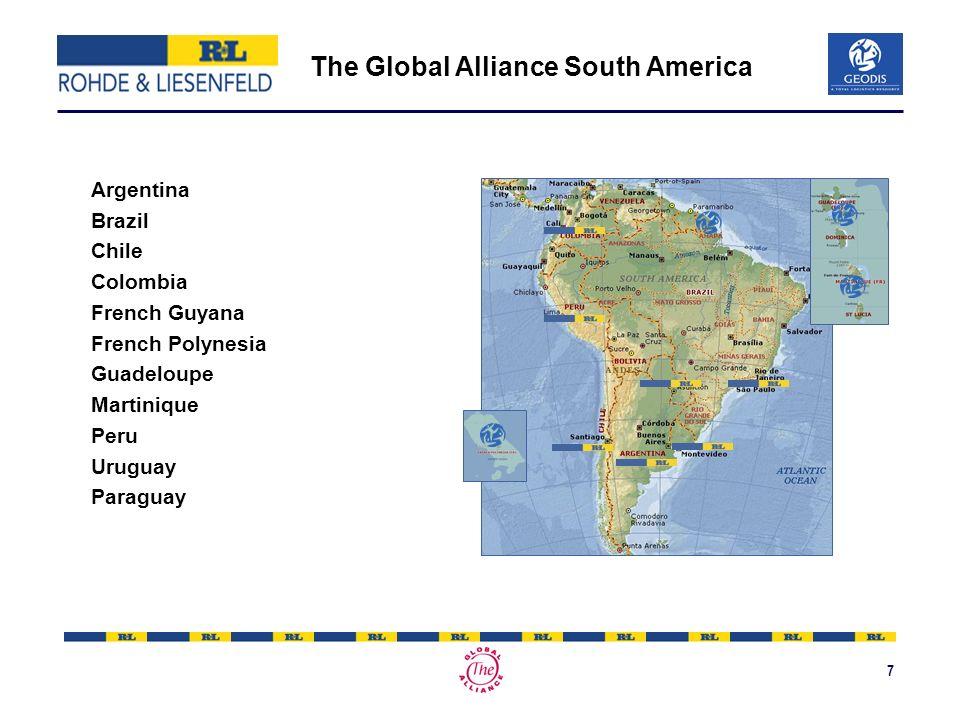 8 The Global Alliance Africa & Middle East Camerun Yvory Coast Kuwait La Reunion Morocco Qatar South Africa Senegal Tunisia UAE