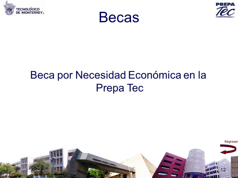 Regresar 12 Beca por Necesidad Económica en la Prepa Tec Becas