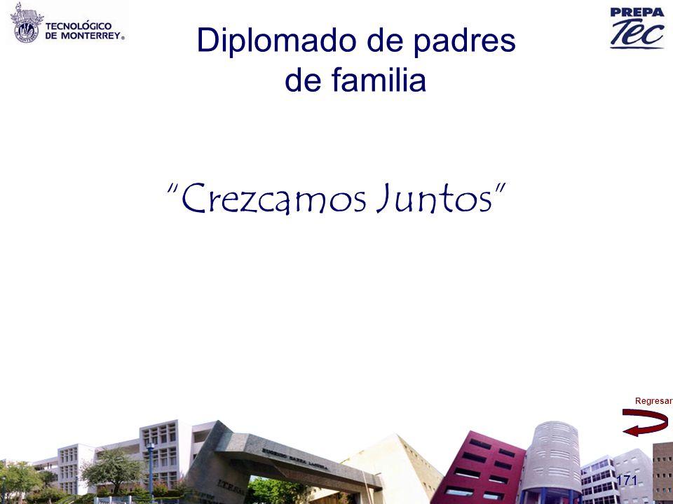 Regresar 171 Diplomado de padres de familia Crezcamos Juntos
