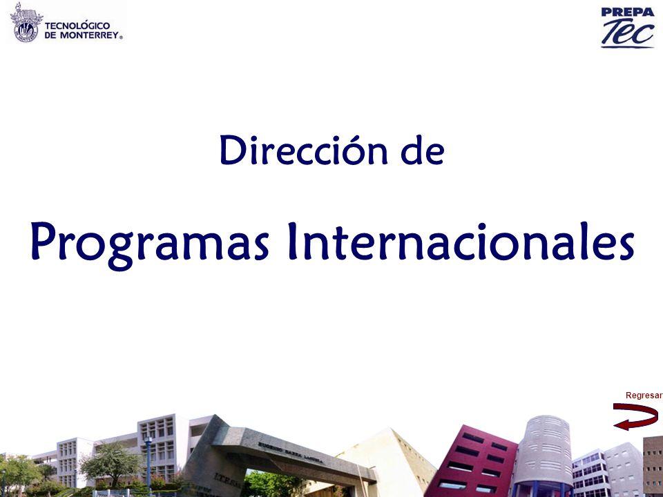 Regresar Dirección de Programas Internacionales