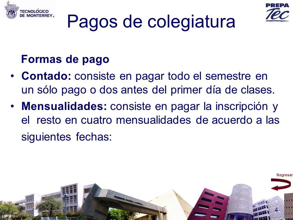 Regresar 135 Cursos De acuerdo a la recomendación recibida en la entrevista, los alumnos se pueden inscribir en los cursos de matemáticas y español.