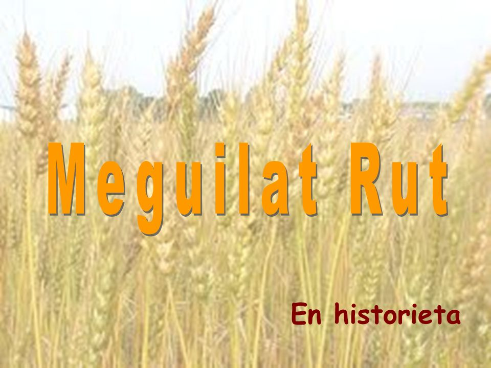 Hubo en la época de los Shoftim una gran hambruna en Eretz Iehudá.