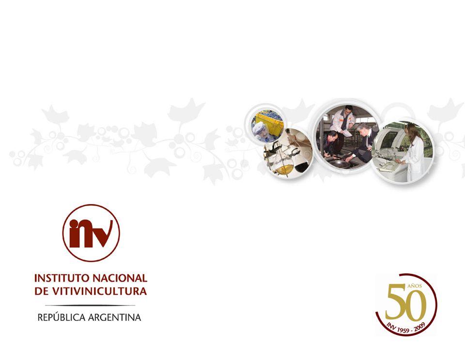 MENDOZA: SUBGERENCIA DE INVESTIGACIÓN PARA LA FISCALIZACIÓN GRUPO DE DEGUSTACIÓN Y ESTUDIOS ENOLÓGICOS / ING.