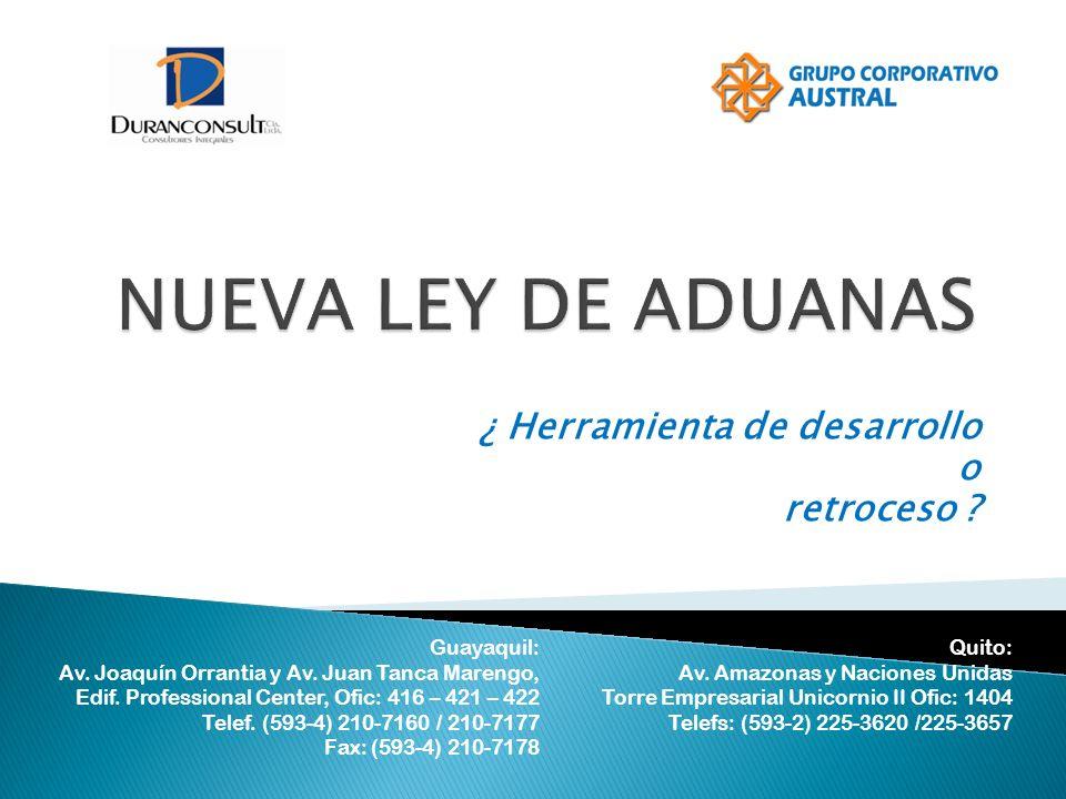 ¿ Herramienta de desarrollo o retroceso .Guayaquil: Av.