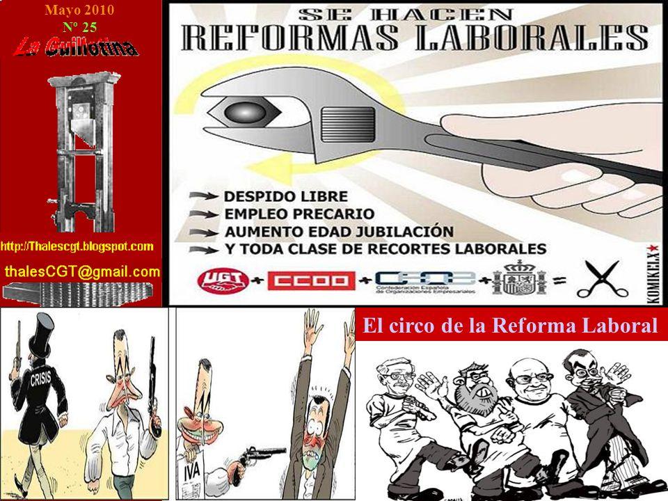 Mayo 2010 Nº 25 El circo de la Reforma Laboral