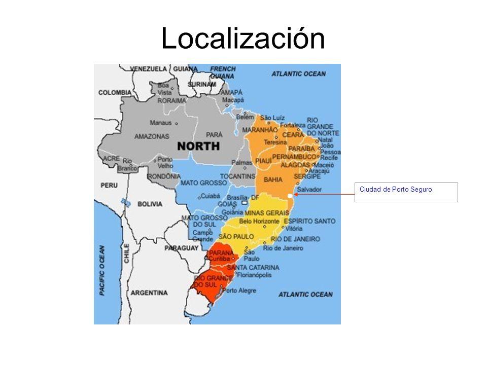 Localización Ciudad de Porto Seguro