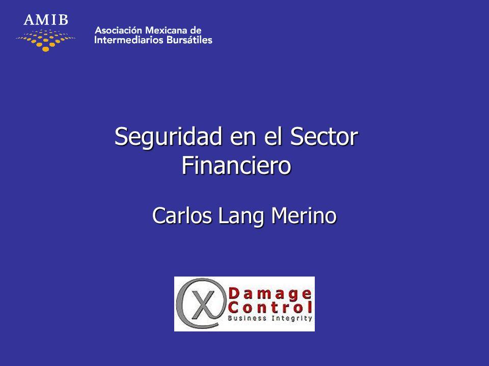 Seguridad en el Sector Financiero Carlos Lang Merino