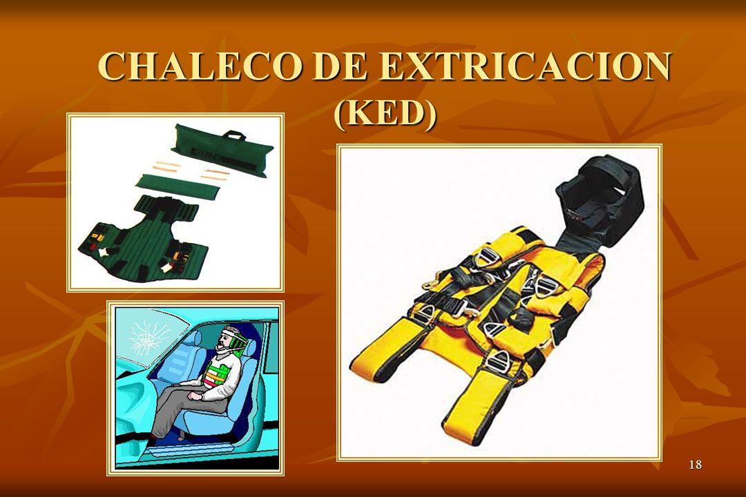 18 CHALECO DE EXTRICACION (KED)