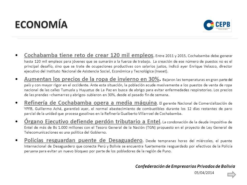 POLÍTICA Choquehuanca pide propuesta escrita sobre canje territorial.