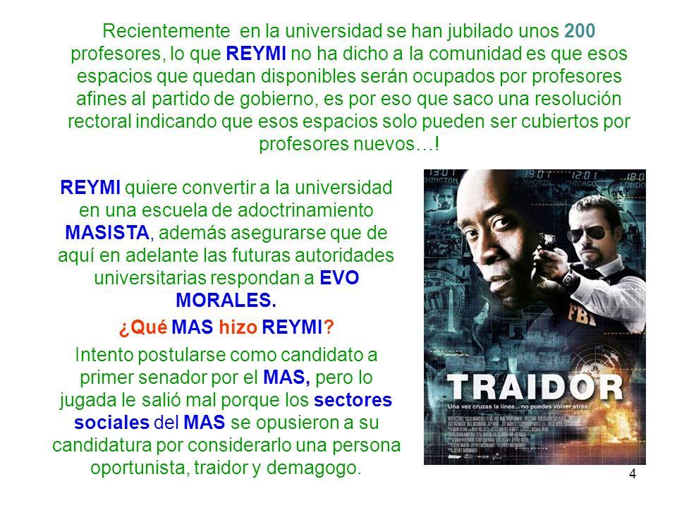 5 Recorte de periódico anunciando el rechazo de los sectores sociales del MAS a REYMI FERREIRA (Fuente: La Estrella del Oriente 05/09/2009)