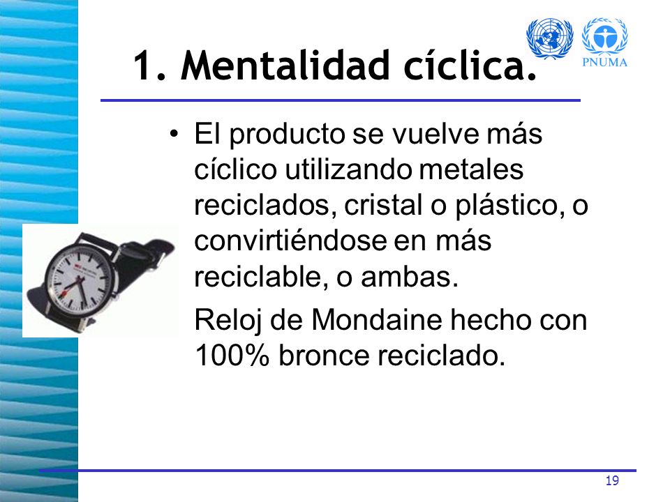 19 1.Mentalidad cíclica.