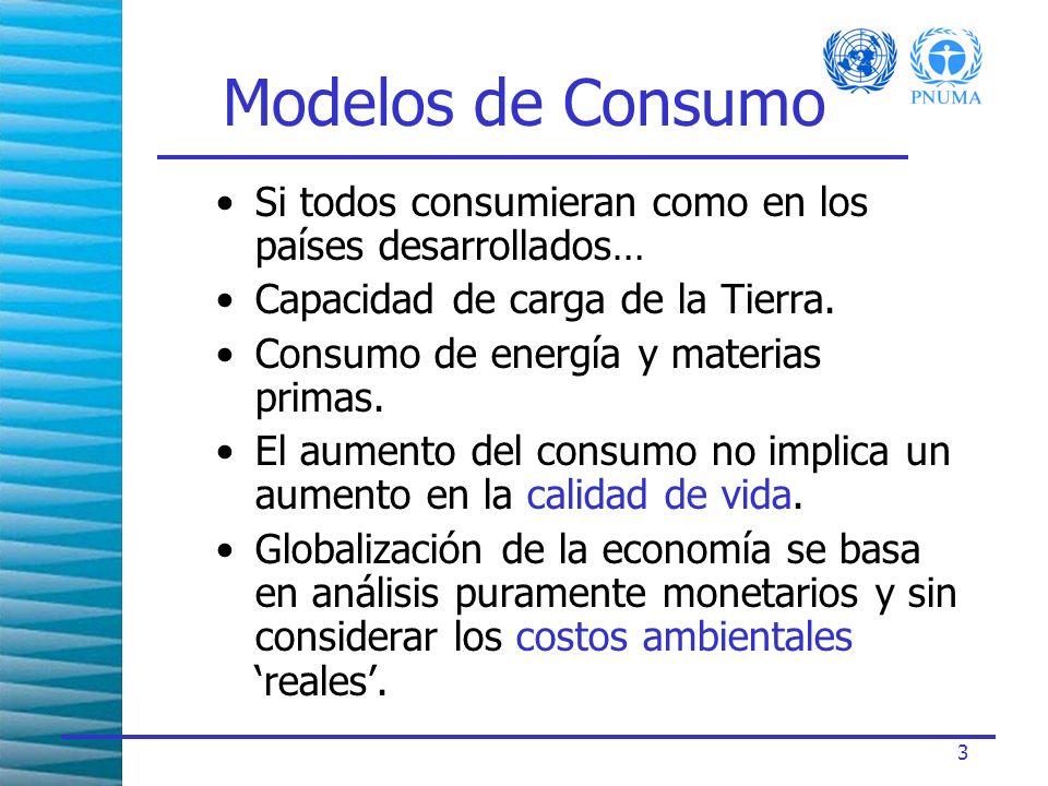 4 Ciclo de Vida Los consumidores están cada vez más interesados en el mundo que está detrás de los productos que compran.