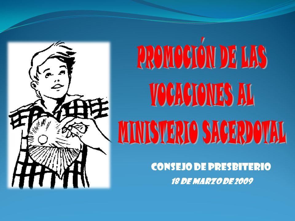 CONSEJO DE PRESBITERIO 18 DE MARZO DE 2009