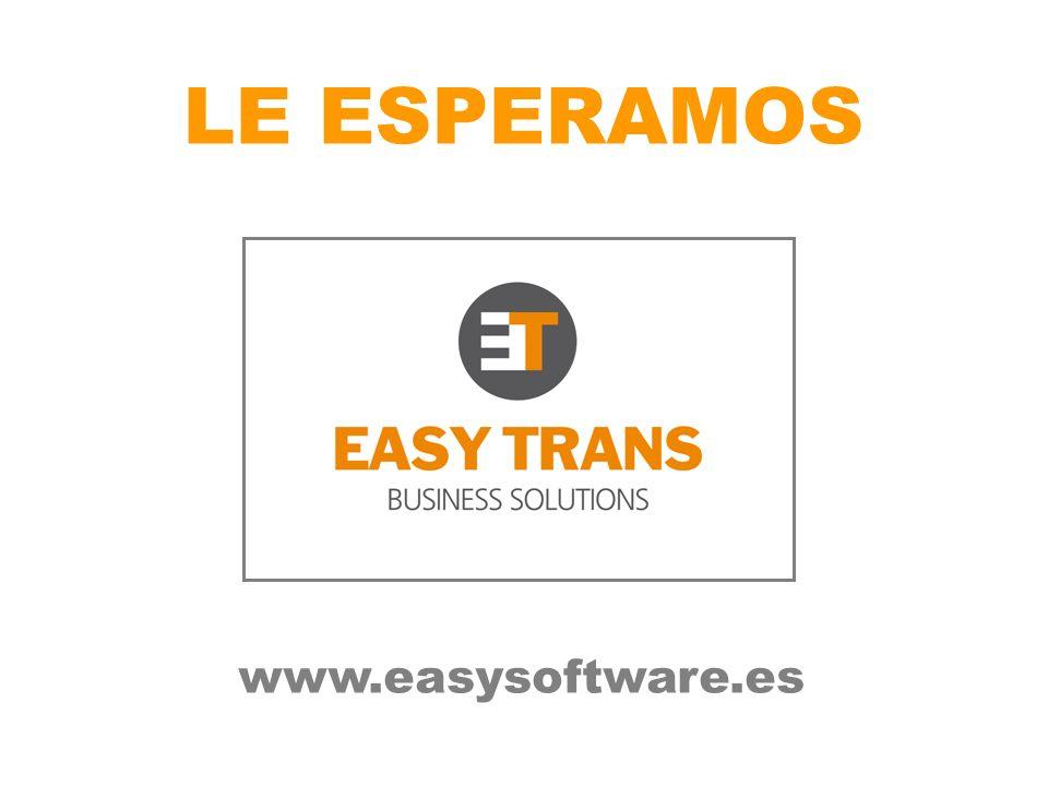 LE ESPERAMOS www.easysoftware.es